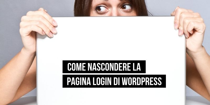 come nascondere la pagina di login di wordpress